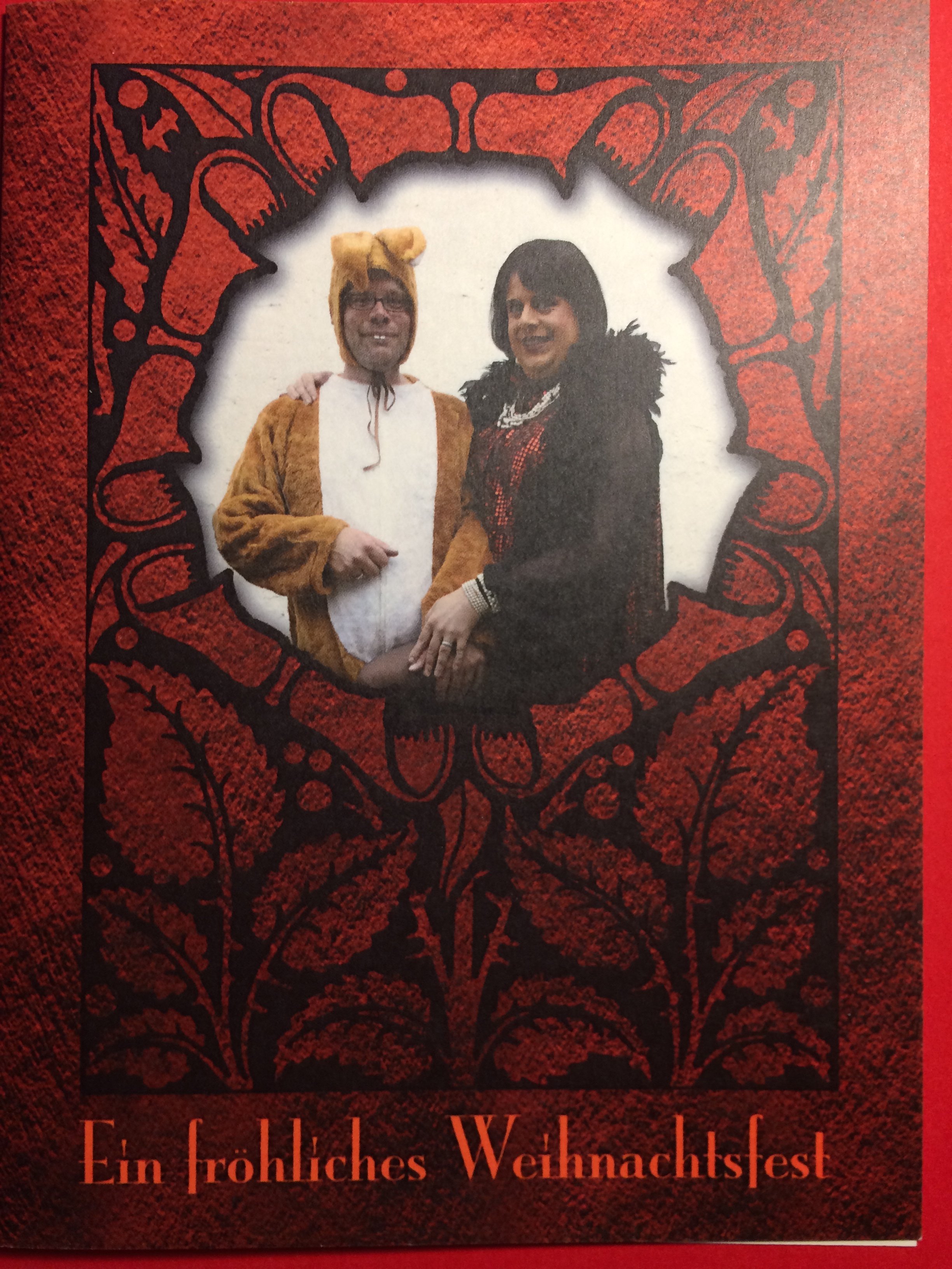 Weihnachtskarte 2007