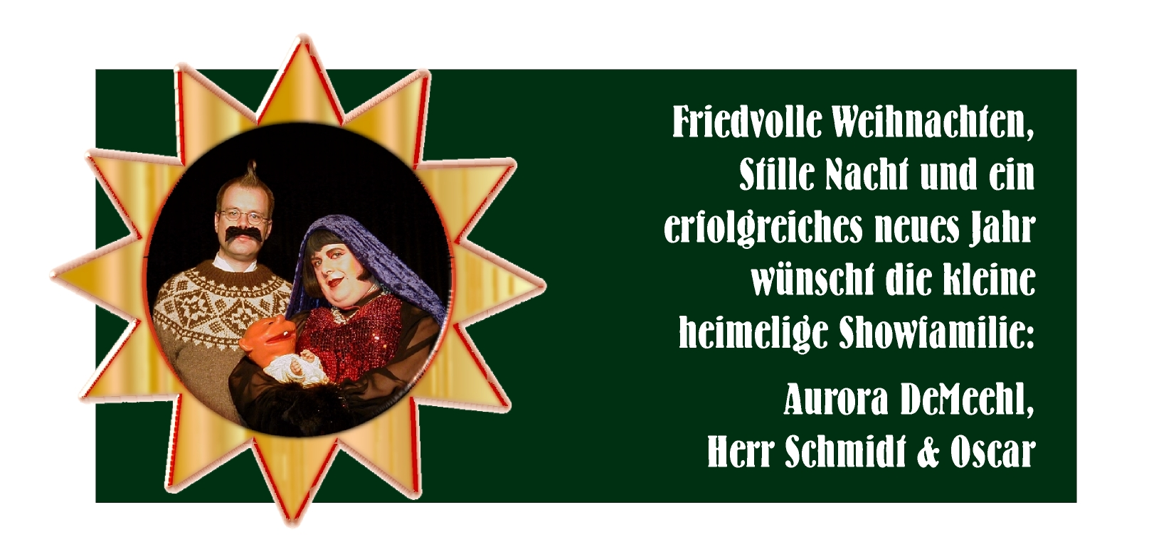 Weihnachtskarte 2000